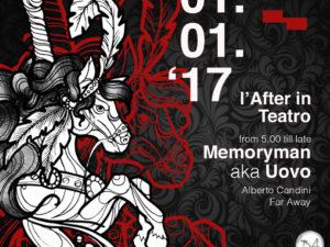 MEET x After in teatro w/ Memoryman aka Uovo